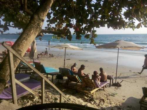 ялиссос, родос: пляжи и развлечения на курорте греции