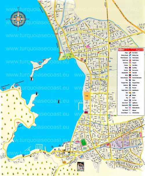 карта спб: горнолыжные курорты ленинградской области и санкт